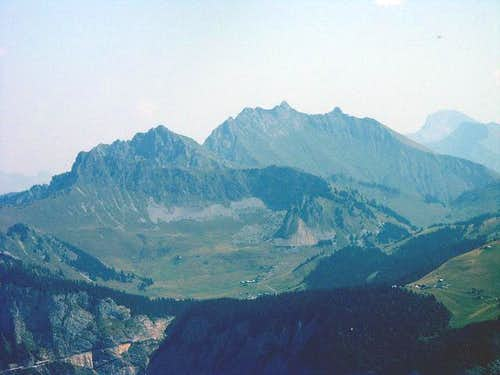 Roc d\'Enfer seen from Le Môle...