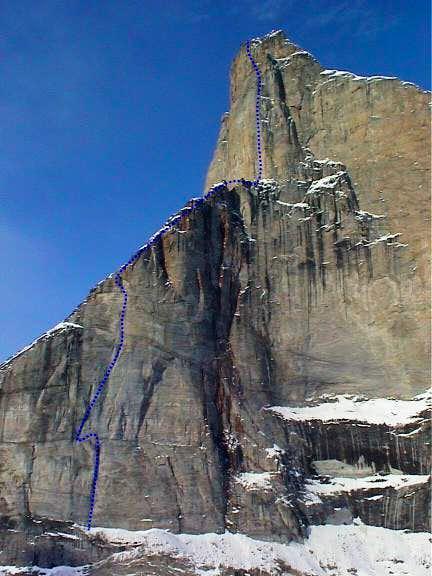 The Norwegian route up Polar...