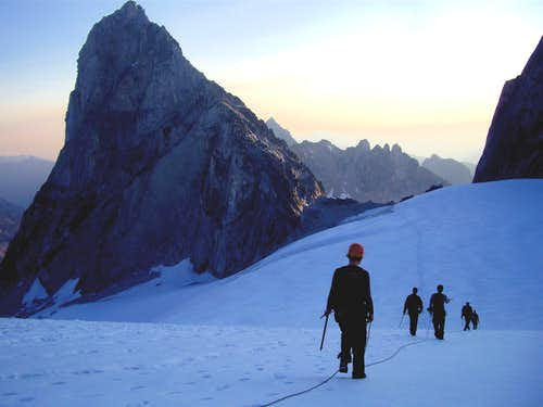 Approach to Bugaboo Spire