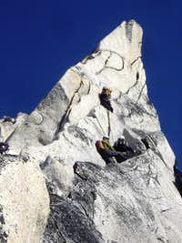 On the Gendarme of Bugaboo Spire