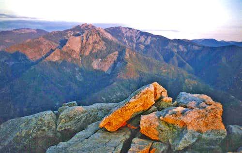 Sunset Moro Rock