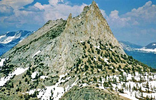 Cathedral Peak from the southwest