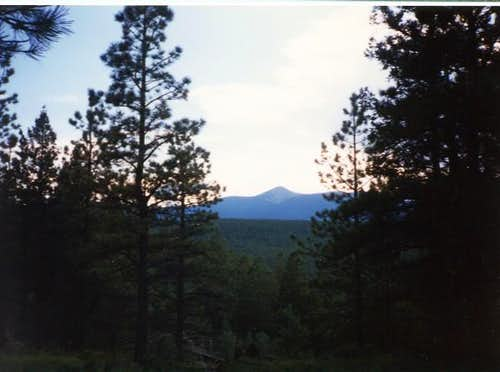 Baldy Mountain viewed from...