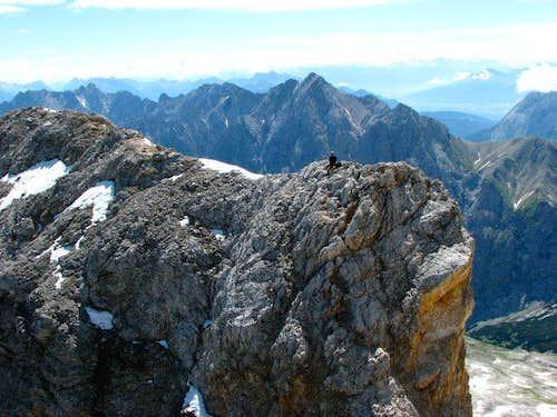 Martin fogl have just climbed 3- grade. No rope, no security, no fear..)