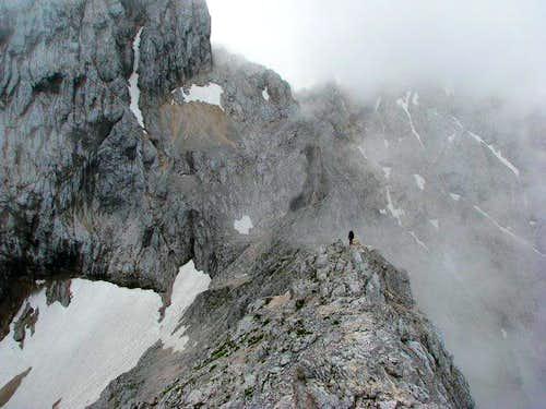 Summit ridge to Alpspitze