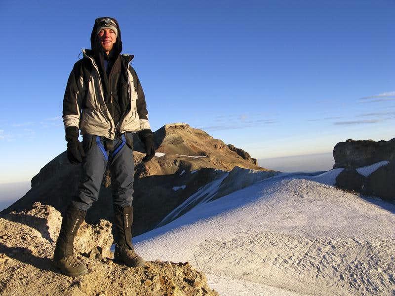 Bryan near Ixta Summit