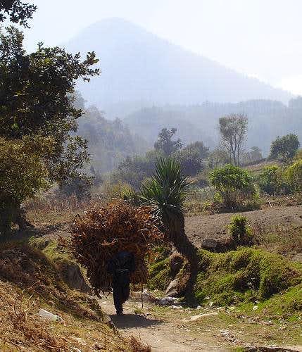 Campesino on Santa María