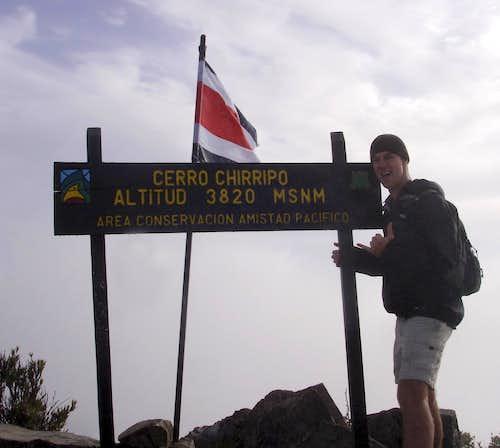 Cerro Chirripo Summit Photo
