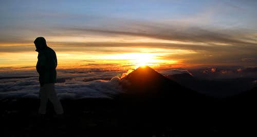 Sunrise on Acatenango