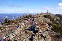 The AT on West Peak