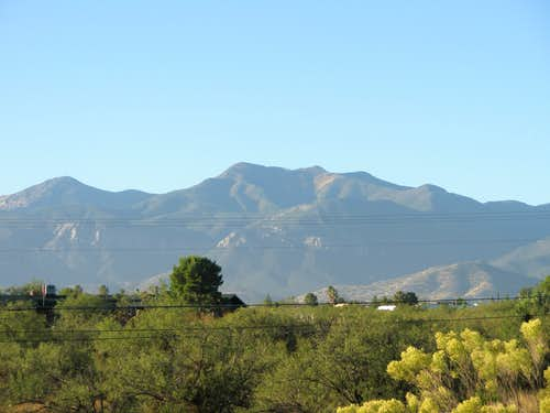 Carr Peak from Sierra Vista