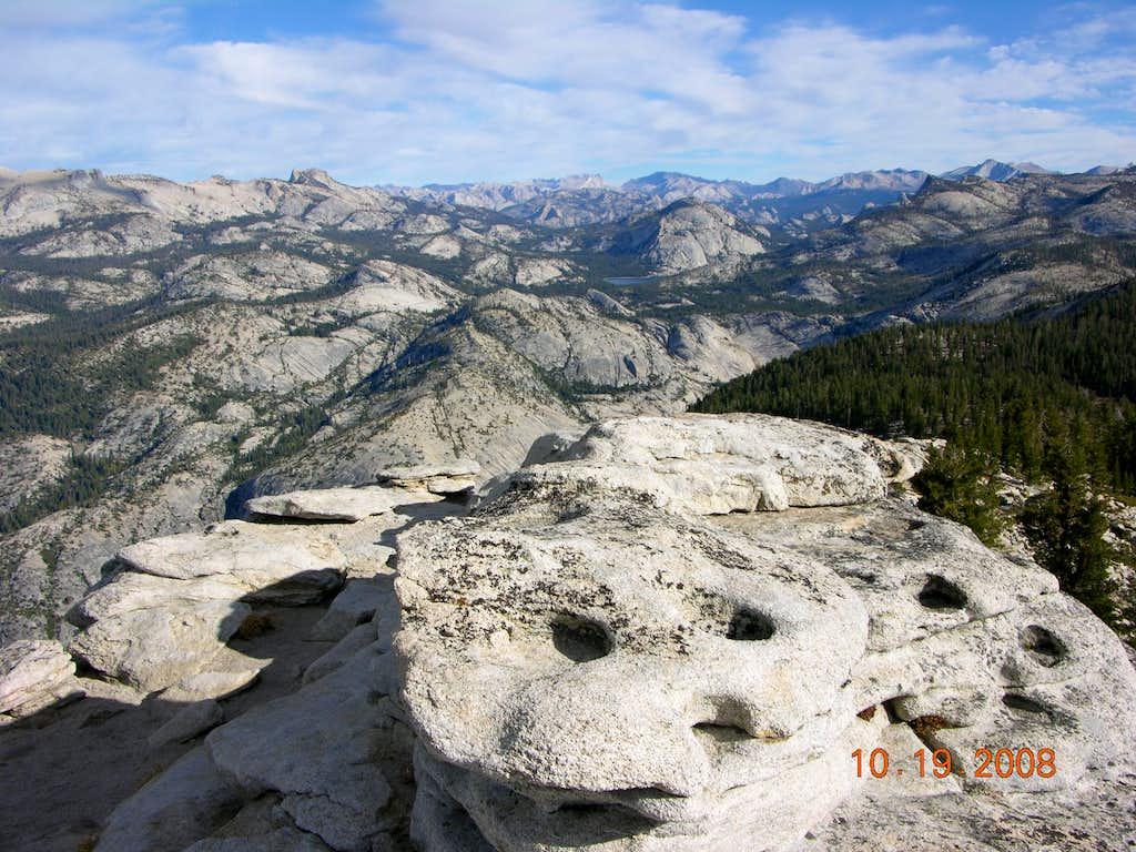 Clouds Rest Summit View
