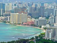 Honolulu and Waikiki Beach