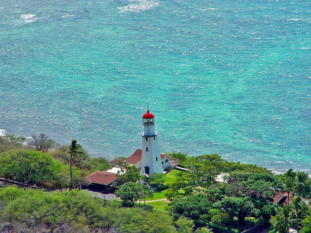 Lighthouse on O'ahu