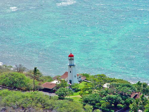 Lighthouse on O'ahu