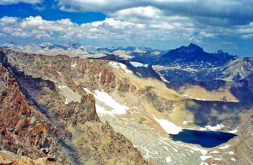 Mt. Humphreys from Mt. Lamarck