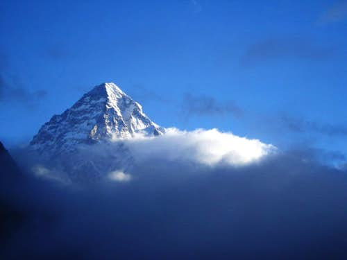 Beautiful View of K2 (8611-M)