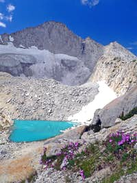 Upper Conness Lake and Mt. Conness