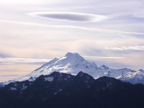 Picture of Mount Baker from Goat Mnt.