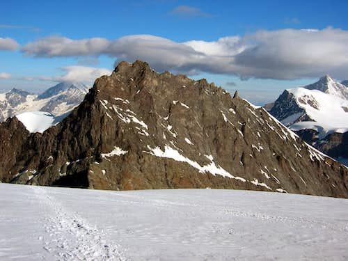 Rimpfischhorn from Strahlhorn