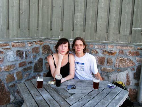 Me and Dorota at Ptarmigan
