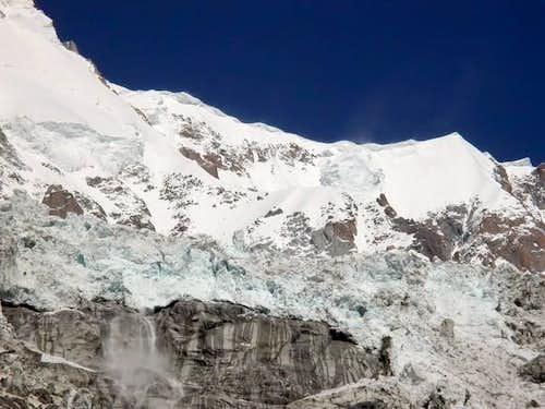 seracchi del ghiacciaio della...