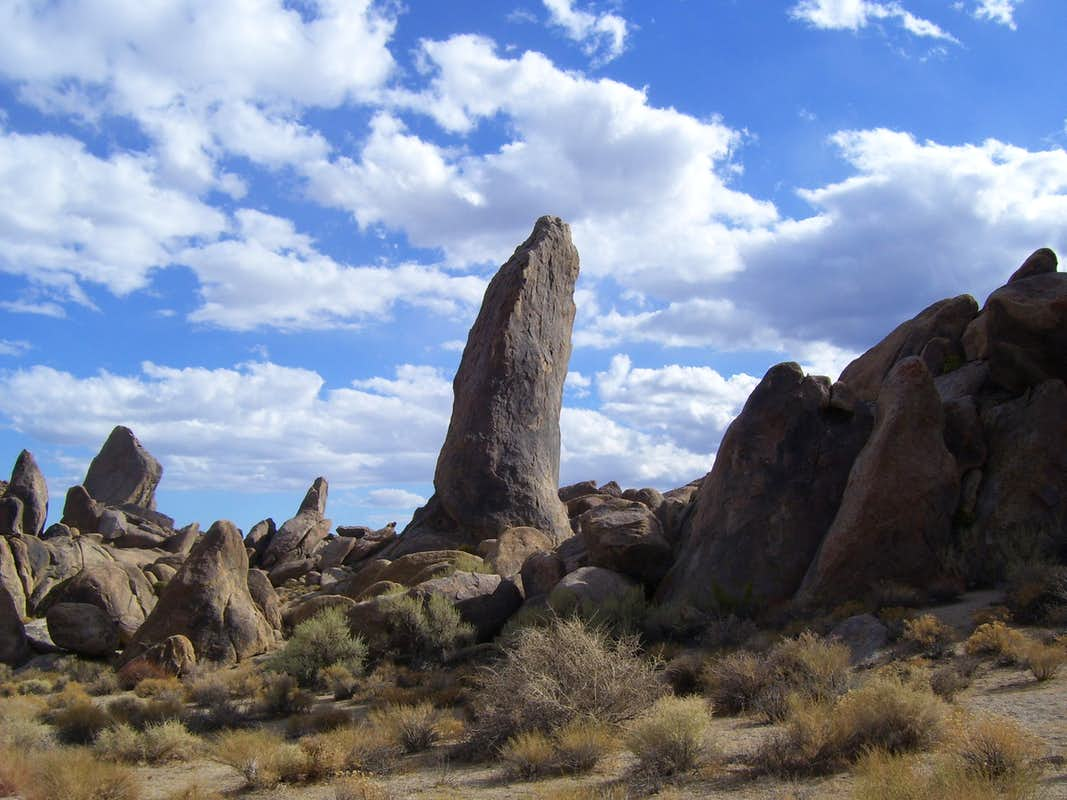 An Alabama Hills formation with a vulgar name