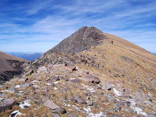 A gentle ridge