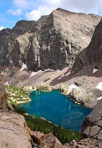 Valecito Mountain and Leviathan Lake