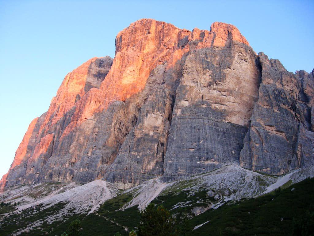 Tofana di Rozes - South Face
