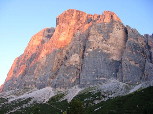 Tofana di Rozes - South Face