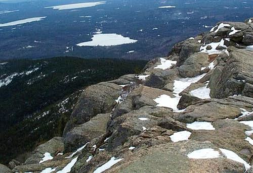 From Mt. Chocorua looking...