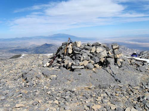 Summit of Mt Moriah