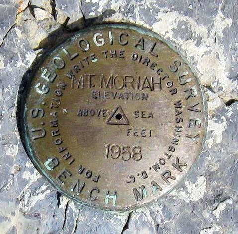 Mt. Moriah Benchmark (NV)