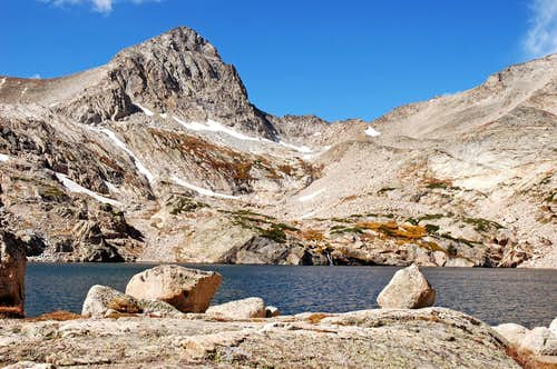 Mt Toll and Blue Lake