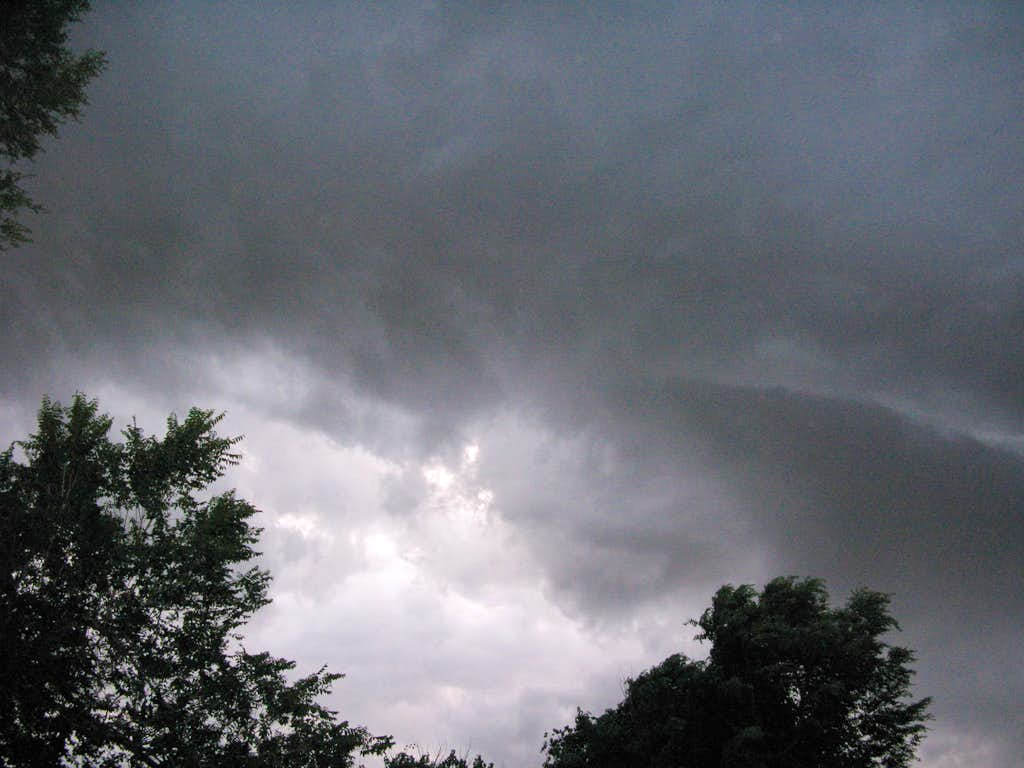 Storm Clouds outside Denver August 8, 2008
