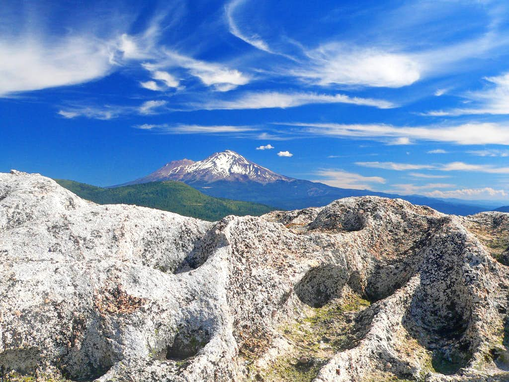 Mt. Shasta from Castle Crags