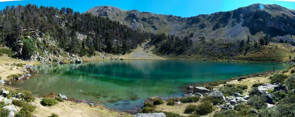 Lac inférieur de Bastan, Pyrenees