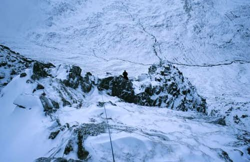 Part way up the Ridge.