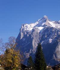 Scheidegg Wetterhorn
