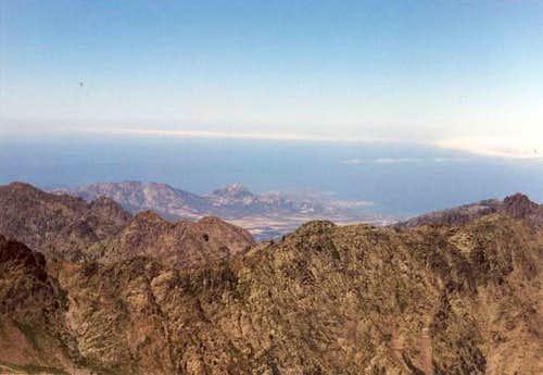 view towards Calvi (north-west)
