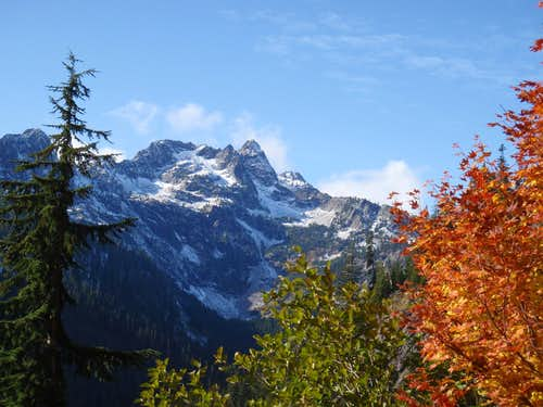 Chair Peak in Fall