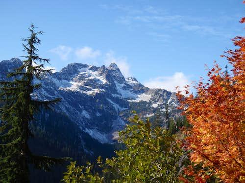 Chair Peak in Fall