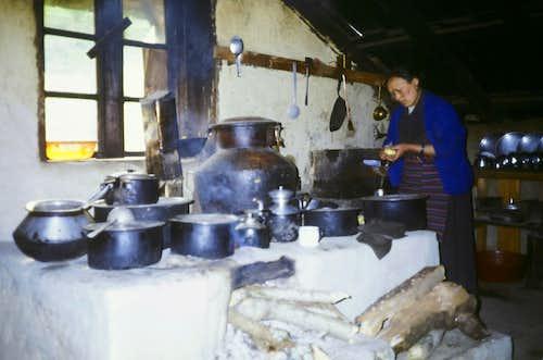 Best cook in Khumbu Valley