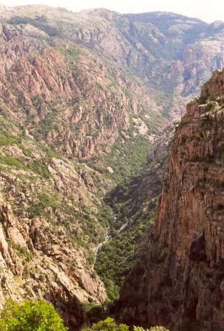 Gorges de Spelunca (east of...