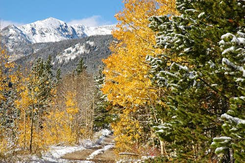 Fall Colors and Snow