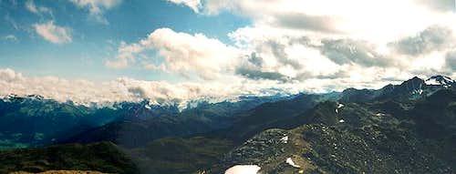 Summit panorama:...