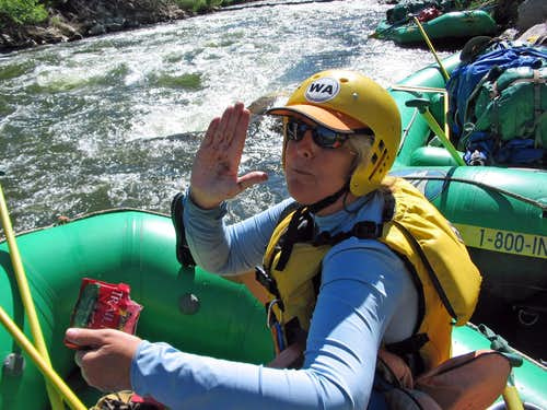 Silversummit on a 5 day Arkansas River rafting trip July \'08