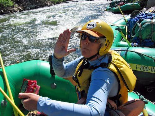 Silversummit on a 5 day Arkansas River rafting trip July '08
