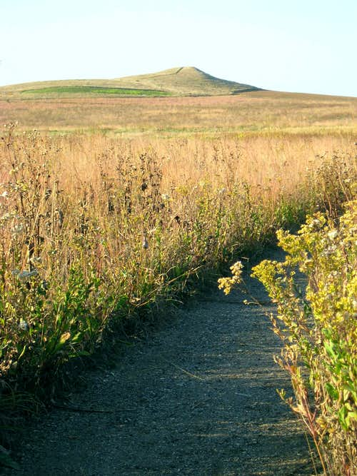 Spirit Mound above the Prairie